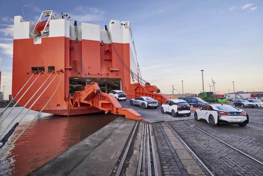 Roro & Container Shipment